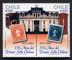 Stamps Of Chile